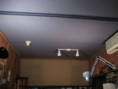 Cloth Ceiling Basement by Anybody Here Cover Their Ceiling In Fabric Gearslutz
