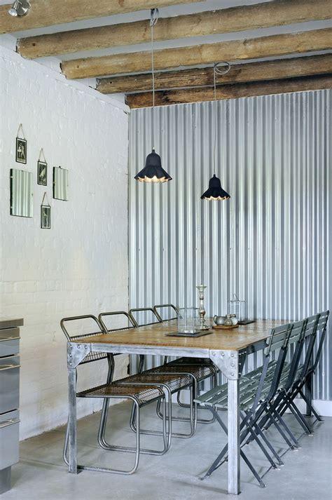 Corrugated Metal In Interior Design Mountainmodernlife Com Metal Interior Design