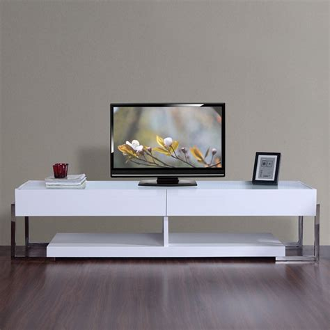 agent tv stand white high gloss tv stands