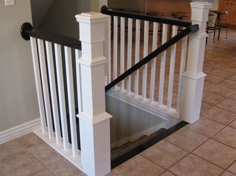 Building A Banister On A Staircase Tda Decorating And Design Diy Stair Banister Tutorial