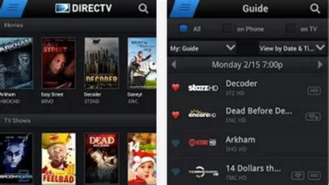 directv android app top best entertainment apps for android 2013 heavy