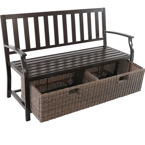 better homes and gardens bench seat better homes and gardens storage bench benches