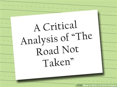 critical analysis 4 easy ways to write a critical analysis with pictures