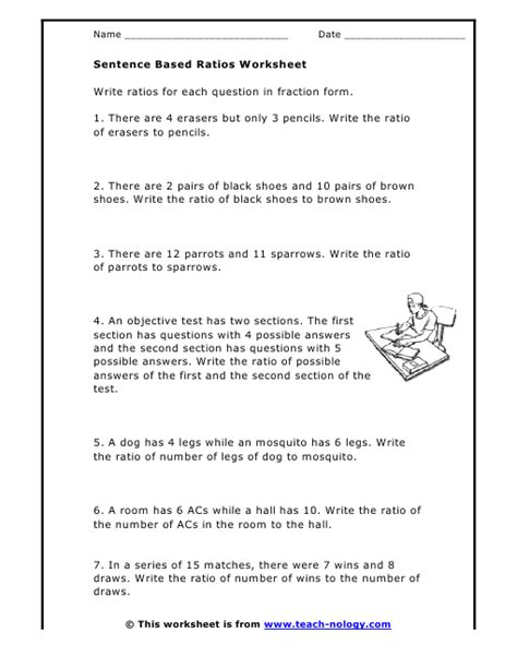 6th Grade Math Ratios And Rates Worksheets by Math Ratios Worksheets Ratio Worksheets For Grade 6