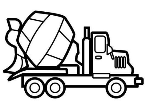 1000 images about free truck coloring pages on pinterest
