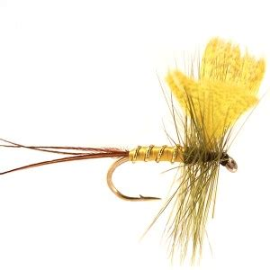 yellow mayfly pattern yellow fan wing mayfly dries dryfly dry fly fishing dry