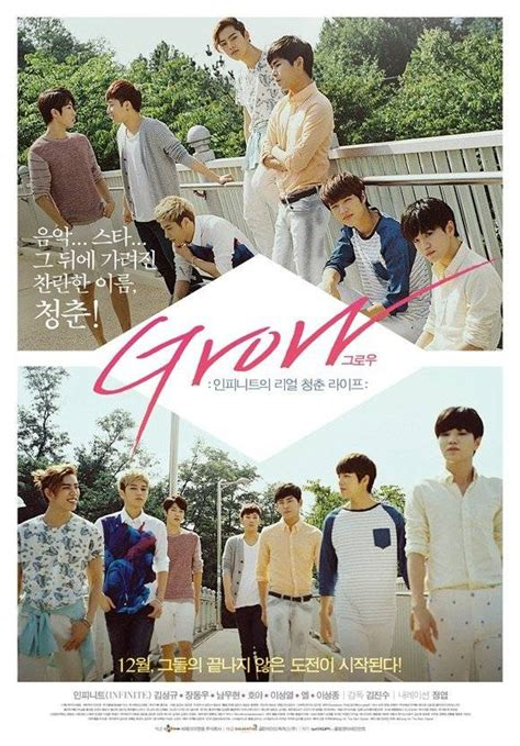 film dokumenter infinite grow infinite s official movie poster for grow released