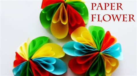 Paper Flowers For Children To Make - how to make a paper flower flower crafts for children