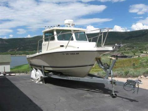 2008 Defiance 220nt Admiral Pilot House Fishing Boat For