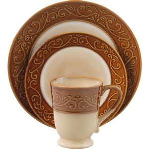 better homes dishes better homes and gardens embossed scroll 16