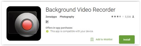 Background Video Recorder | best secret video recorder apps for android