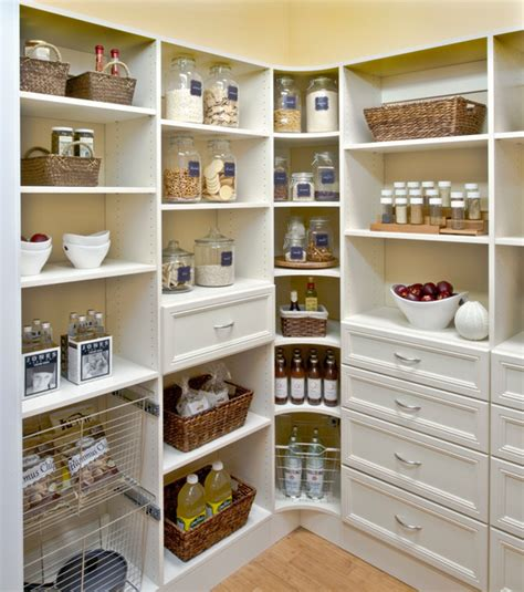 Kitchen With Walk In Pantry by Total Organizing Solutions Pantry Walk In