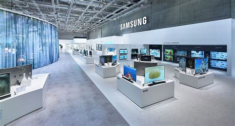 samsung electronics ifa 2015 berlin electrical display samsung store showroom