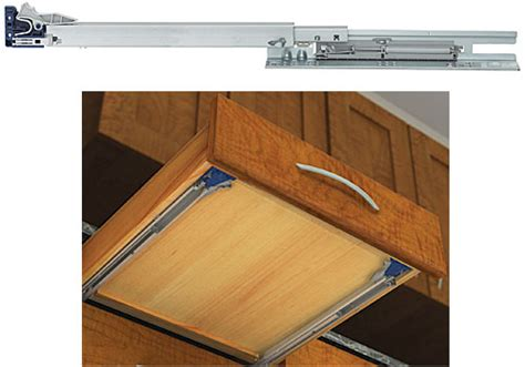 kitchen cabinet undermount drawer slides knape and vogt muvhdb22 knape vogt muv heavy duty 22