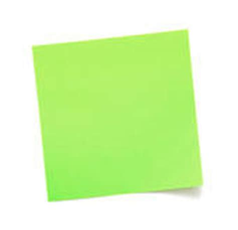 green post it clipart best