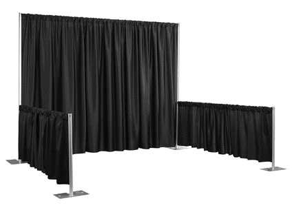 pipe and drape rental dallas pipe and drape rental for trade show conference banquet
