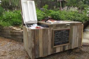 turn an old refrigerator into cooler and bar simplemost