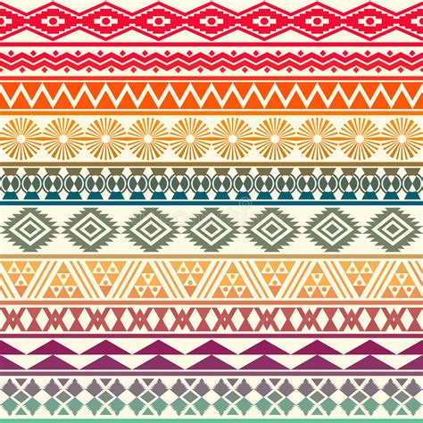 seamless pattern maker software free tribal striped seamless pattern stock vector image