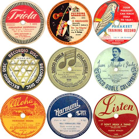 printable record labels vintage 78 labels subtext gallery