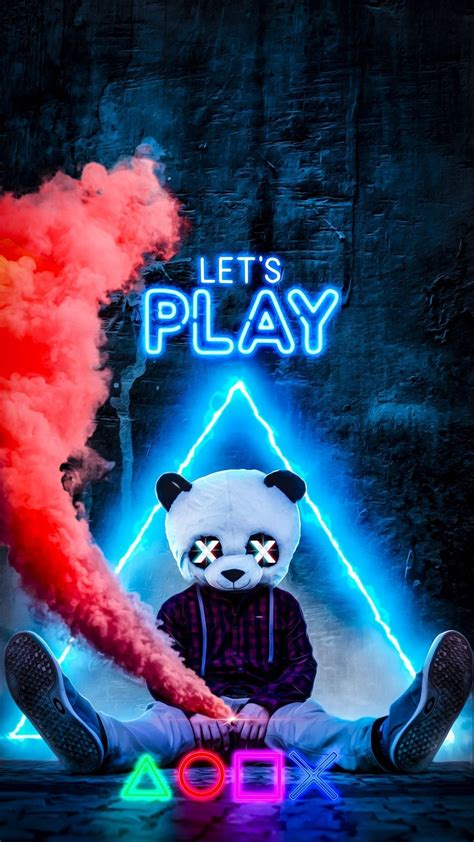 gamer panda wallpapers wallpaper cave