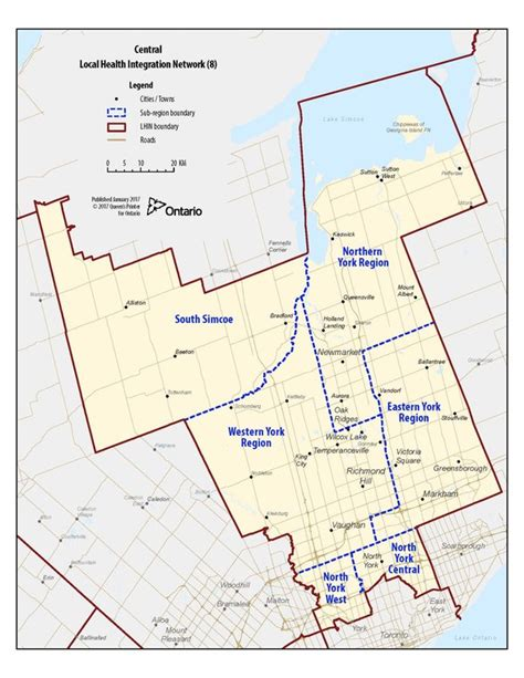 canadian zip code pattern central local health integration network lhin