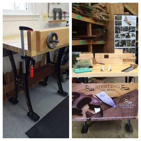 dovetailing tradeshow apartment wood working bench