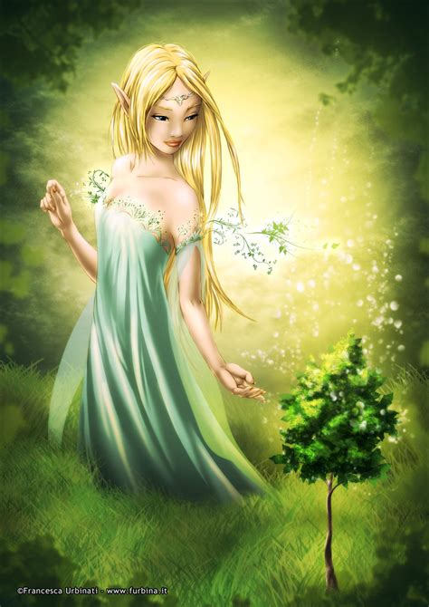 The Elven by The Elven Goddess By Nime080 On Deviantart