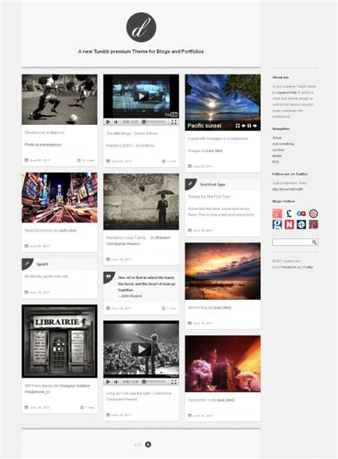 tumblr themes photo portfolio 20 remarkable exles of premium tumblr themes graphicsbeam