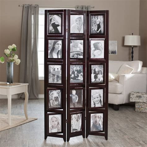 picture frame room divider unique photo frame room divider screen for privacy uniq