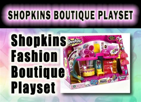 Shopkins Fashion Boutique 1 shopkins fashion boutique playset review best toys for 2015 20
