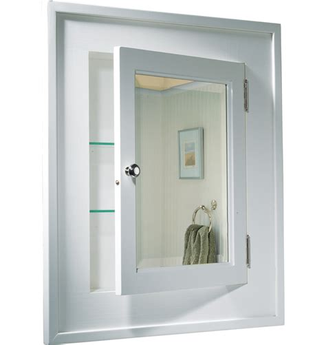 Recessed Built In Bathroom Mirror Cabinet Holbrook Medicine Cabinet Rejuvenation