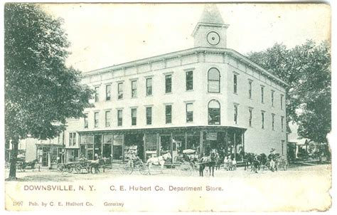 Hulbert Department Store - Delaware County NY Genealogy ...