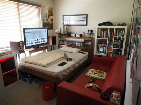 Gaming Bedroom Design Small Bedroom With Areas