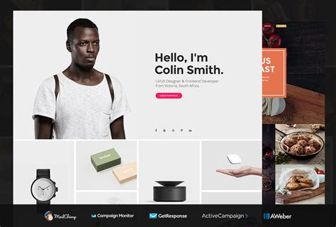 Portfolio Website Html Template 20 Best Html5 Bootstrap Portfolio Website Templates 2018 Colorlib
