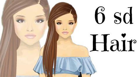 tutorial hair design stardoll stardoll 6 stardollars hair design tutorial cheap and