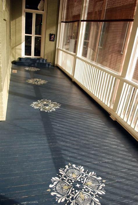 Creative Wood Floor Paint Decoration Art Works