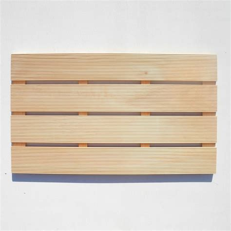 wood bathroom mat hinoki wood bath mat small bathroom project pinterest