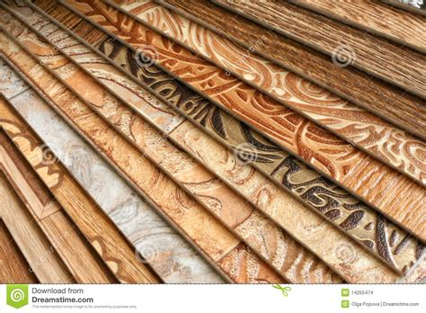 collection natural linoleum stock photo image