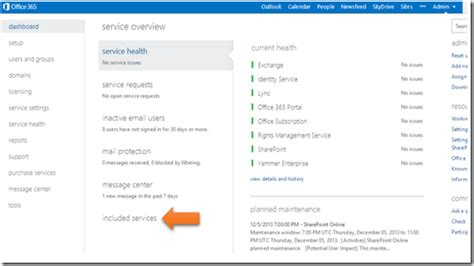 Office 365 Portal Explorer 11 Ciaops Enable Yammer Integration In Office 365
