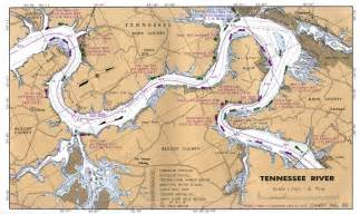 Tennessee River Map by Maps