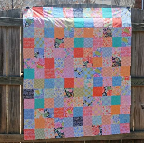 Easy Patchwork Quilt - easy quilt to make