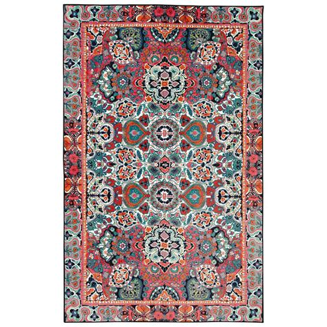 mohawk rainbow rug mohawk potenza rainbow 7 ft 6 in x 10 ft area rug 018168 the home depot