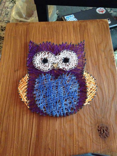 Owl String - 105 best owl stringart uil draadkunst images on
