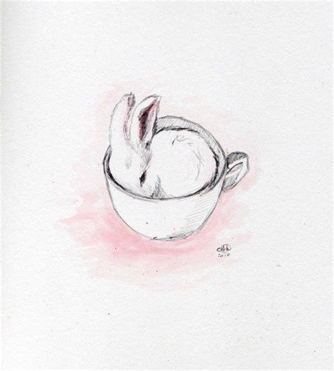 tattoo pen rabbit bunny cup graphics tattoo ideas and ux ui designer