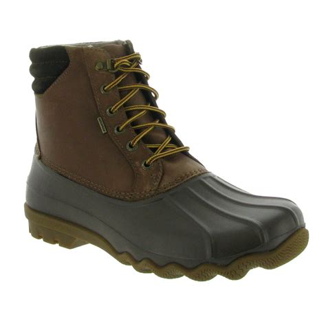 s duck boots sperry s avenue duck boot mens boots