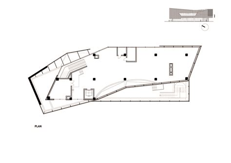 floor plan sles gallery of vanke new city center sales gallery spark architects 20
