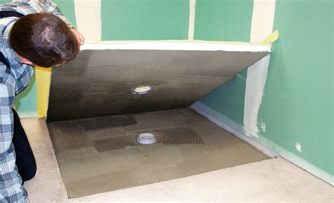 begehbare dusche badewanne dusche selbst de - Ebenerdige Dusche Bauen