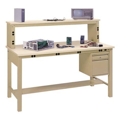 tech bench workbenches edsal complete electronic tech bench w anti