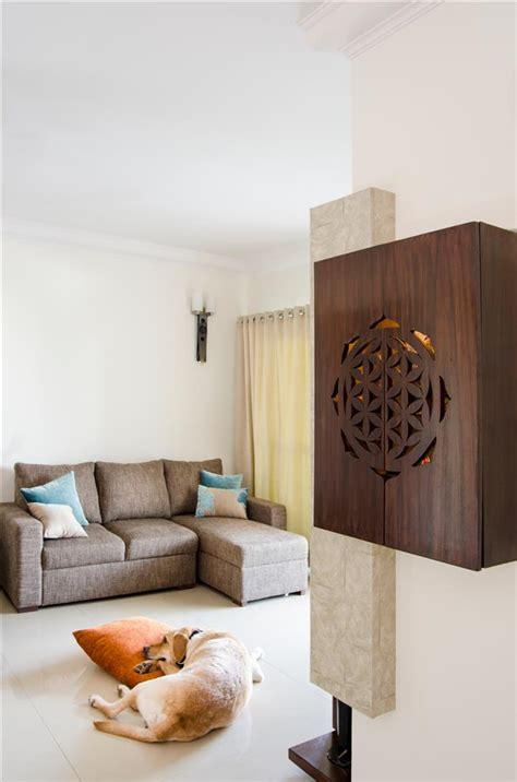 poonam gupta style   budget pooja unit living room