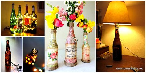 Diy Recycled Home Decor 34 fascinating upcycling diy wine bottle projects to